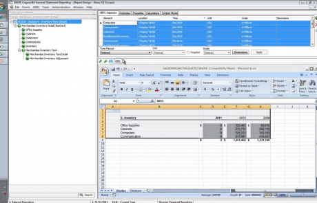 IBM Cognos FSR Automated External Reporting