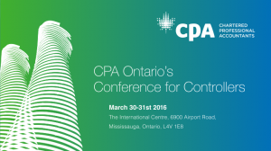 conference for controllers ontario cpa